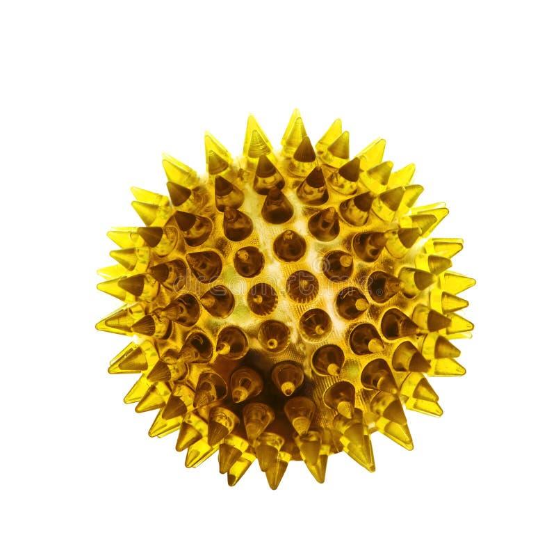Конспект бактерий, заболевание клетки вируса изолировал белое backgrou стоковые изображения rf