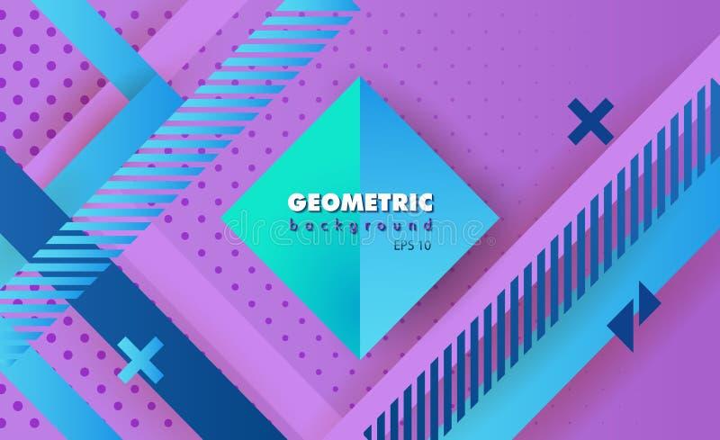 Конспект битника геометрический стоковая фотография rf