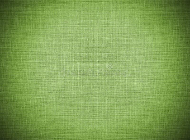 Конспект виньетки зеленый рециркулирует бумажную картину на текстуре предпосылки ткани шнурка, винтажном стиле стоковая фотография rf