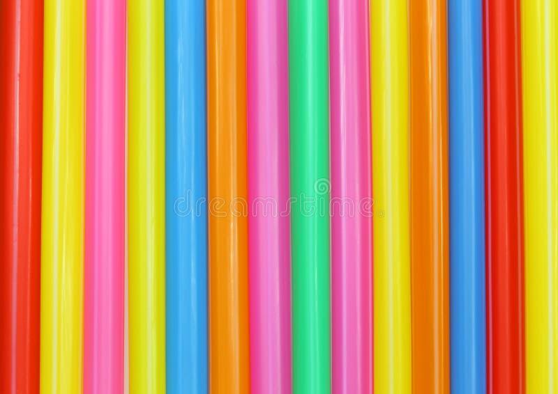Конспект выпивая соломы красочный стоковые изображения
