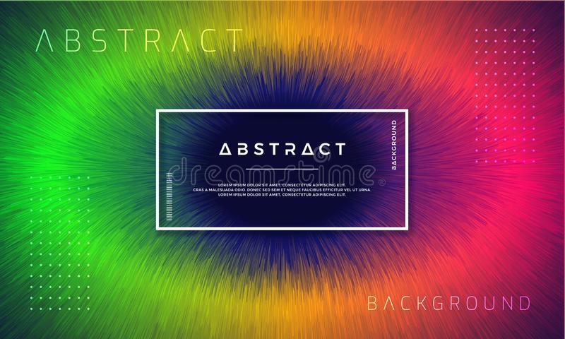 Конспект, динамические, современные предпосылки для ваших элементов дизайна и другие, с зеленым, оранжевым и красным цветом гради бесплатная иллюстрация