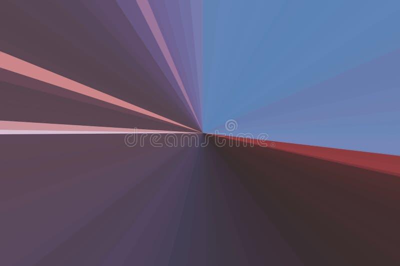 Конспект излучает предпосылку искусства Красочная конфигурация пучка излучения нашивок Цвета тенденции стильной иллюстрации совре стоковые изображения rf