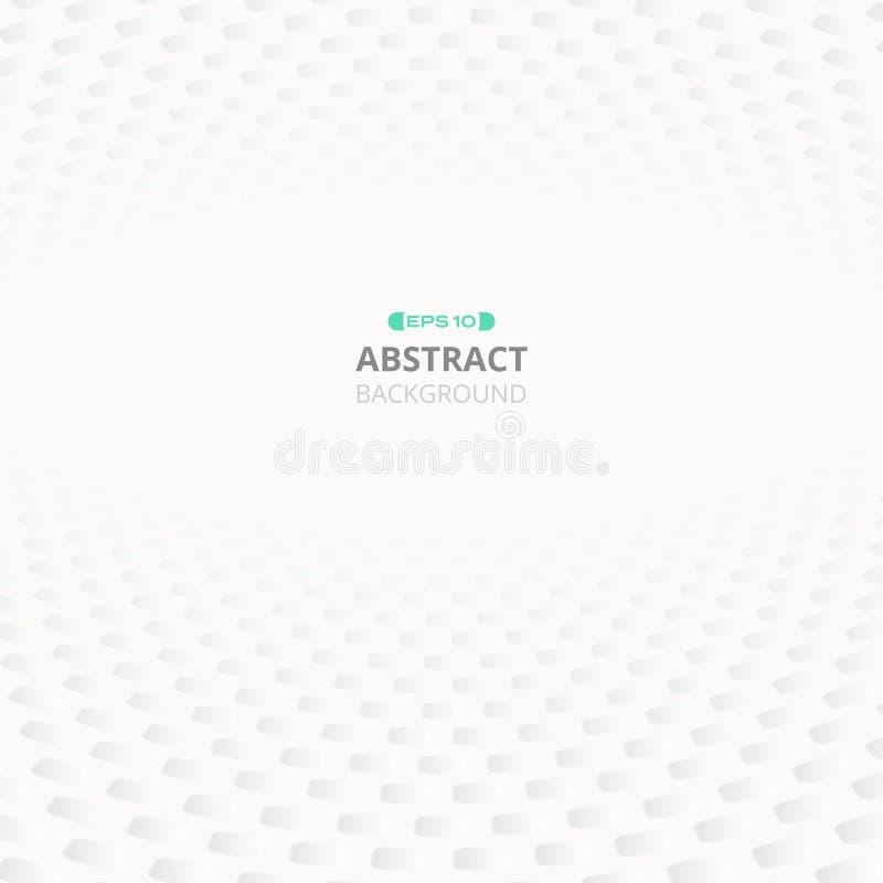 Конспект предпосылки серой сетки картины градиента геометрической иллюстрация вектора
