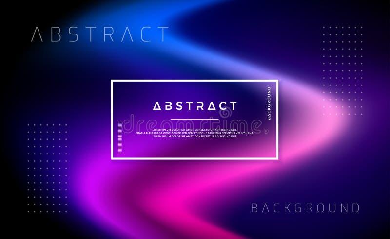 Конспект, современная динамическая предпосылка для вашего приземляясь дизайна страницы Минимальная предпосылка для для дизайнов в иллюстрация вектора