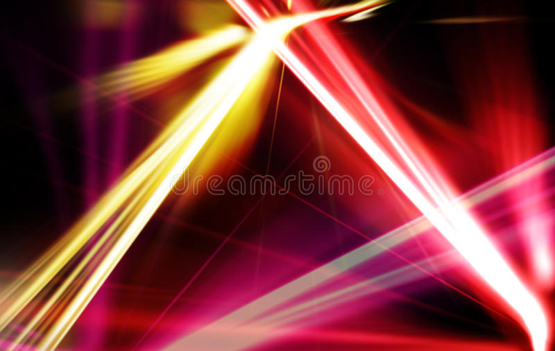 Конспект цифровой красочной линии лазера света стоковые изображения