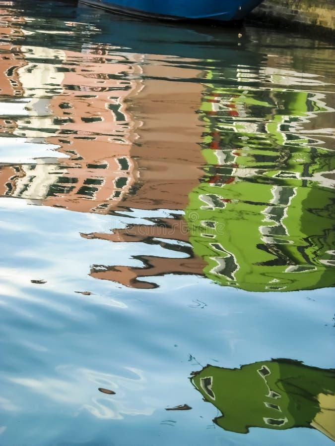 Конспект Burano стоковое изображение rf