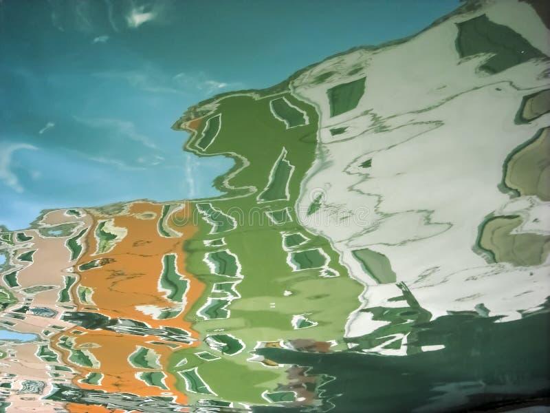 Конспект Burano стоковая фотография