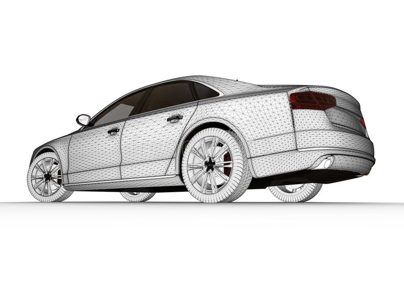 конструированный автомобиль как бесплатная иллюстрация