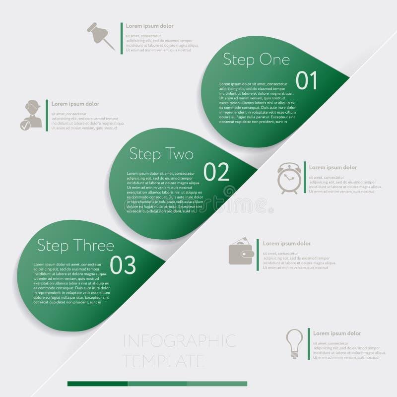 Конструируйте график шаблона знамен номера или план вебсайта бесплатная иллюстрация
