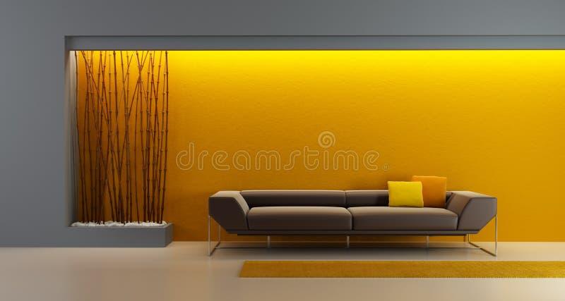 конструируйте комнату longe бесплатная иллюстрация