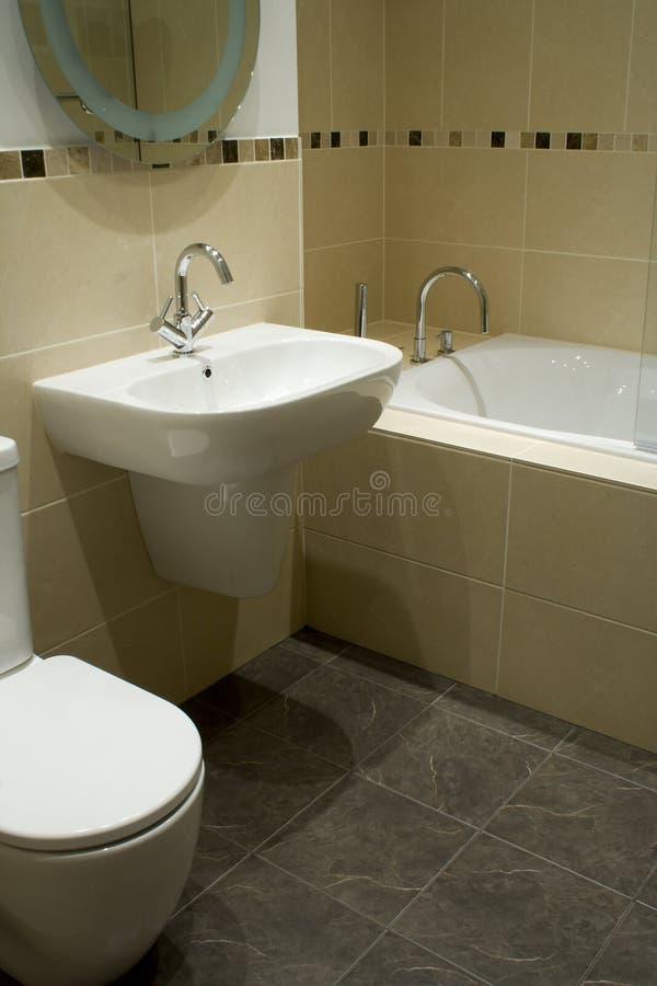 конструктор ванной комнаты стоковые фото