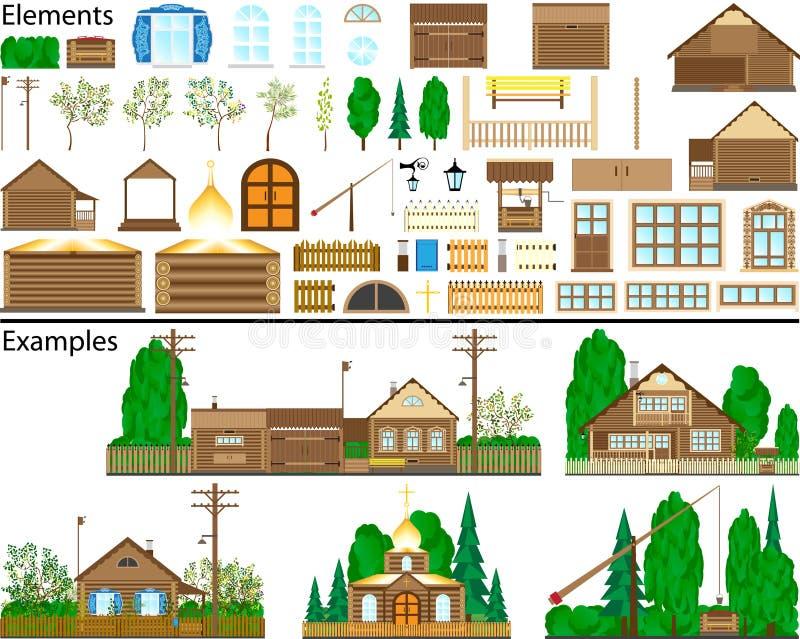 конструкции сельские бесплатная иллюстрация