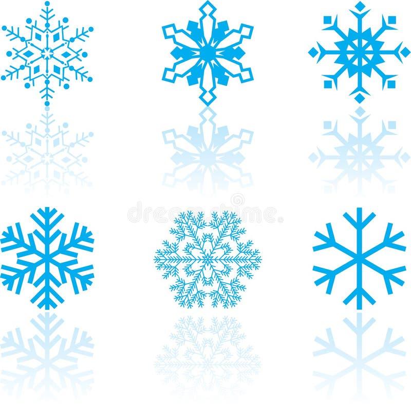 конструкции установили снежинку иллюстрация штока