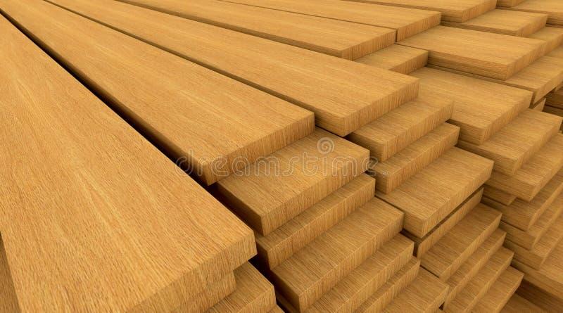 конструкционные материалы деревянные иллюстрация штока