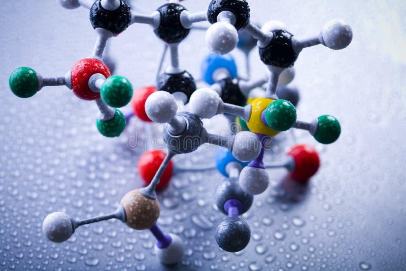 конструкция атома стоковые изображения rf