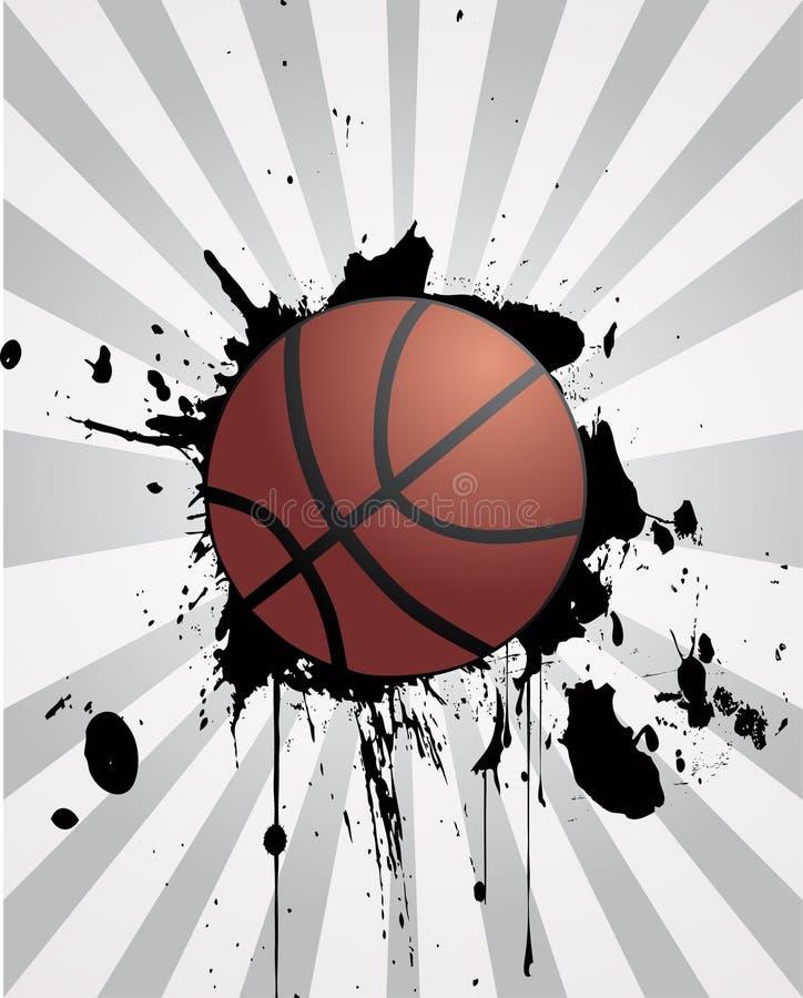 конструкция баскетбола иллюстрация штока