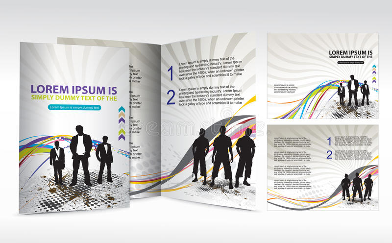 конструкция брошюры бесплатная иллюстрация