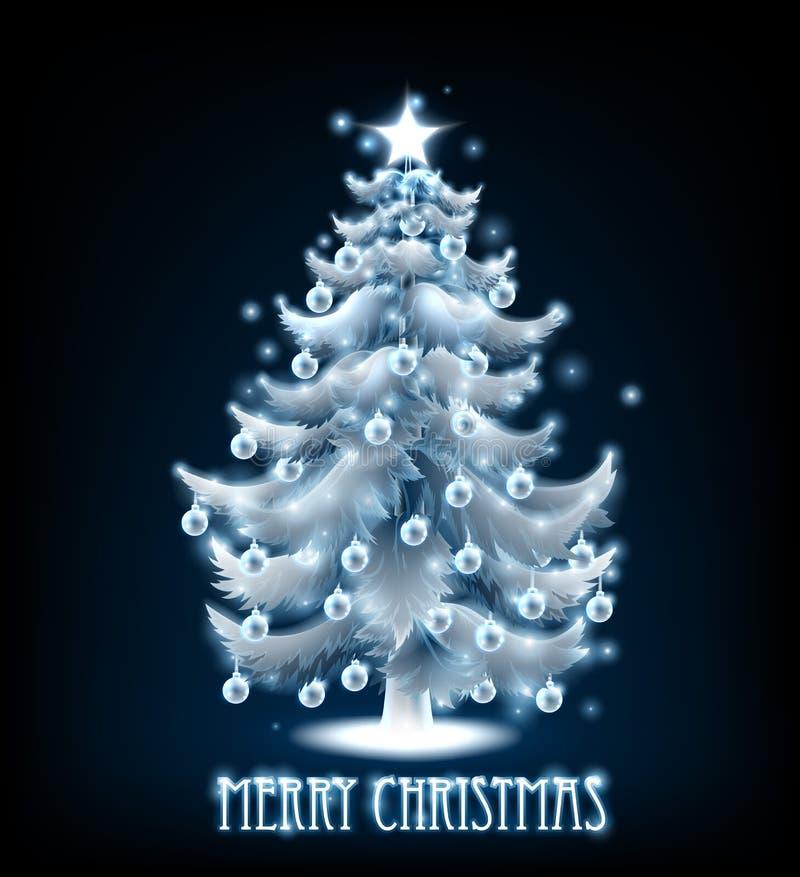 Конструкция вала с Рождеством Христовым иллюстрация штока