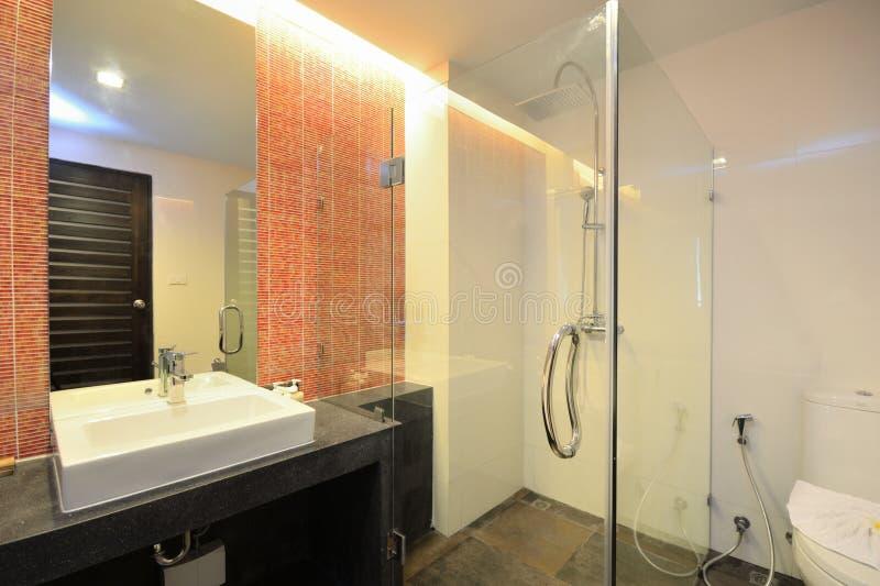 конструкция ванной комнаты стоковые фото