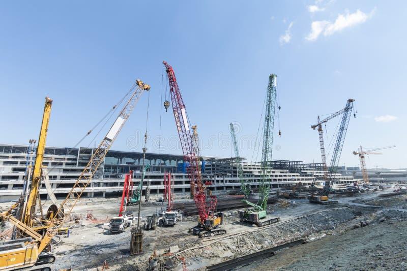 Конструкция в Стамбуле стоковое изображение rf