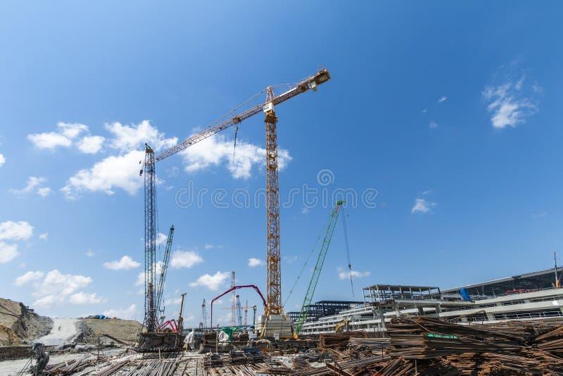 Конструкция в Стамбуле стоковая фотография rf