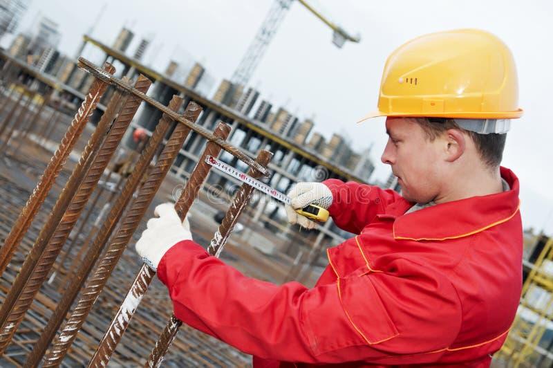 конструкция делая работника стоковое изображение rf