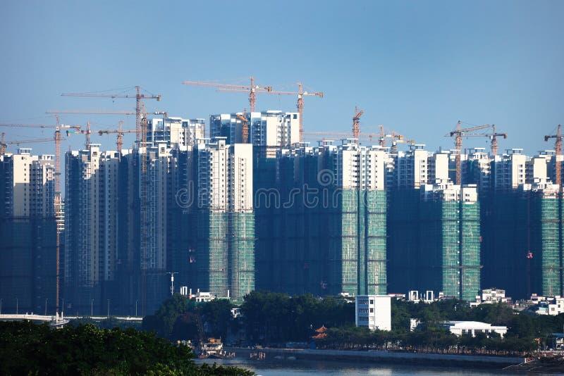 конструкция зданий новая стоковая фотография rf