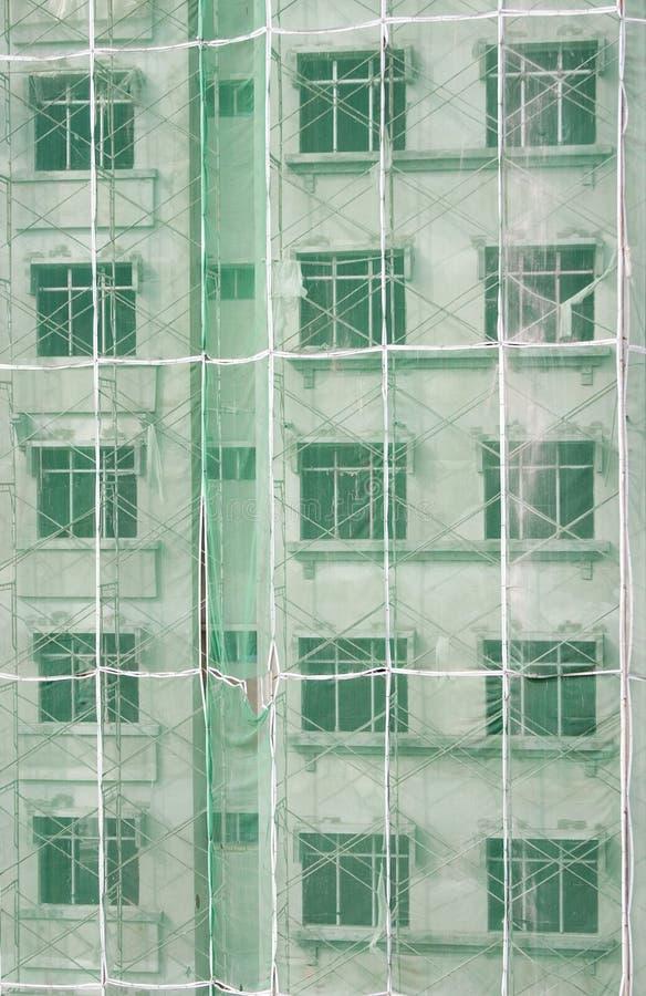 конструкция здания под вертикалью стоковые изображения