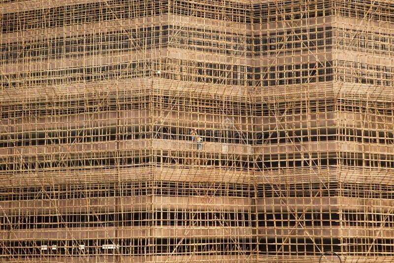 конструкция здания Hong Kong стоковое фото rf