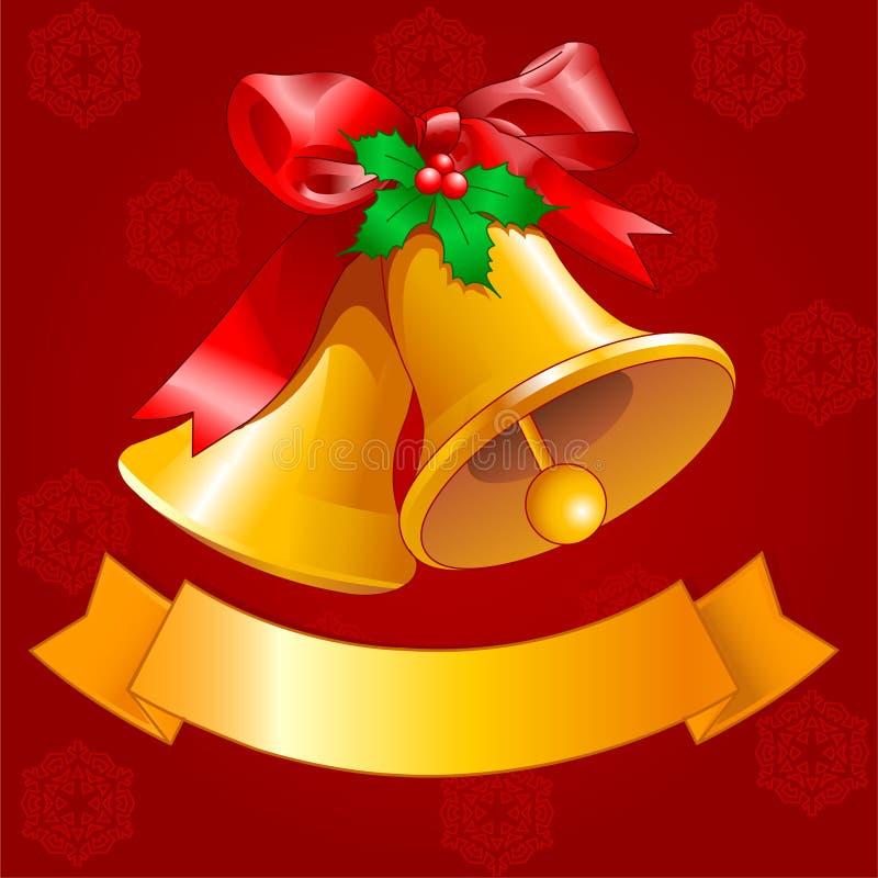 Конструкция колоколов рождества иллюстрация штока