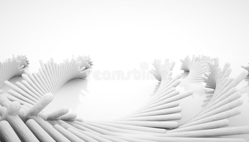 конструкция конспекта 3d иллюстрация штока