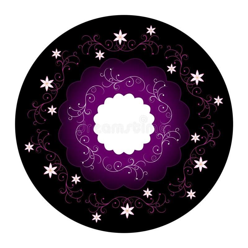 конструкция круга флористическая иллюстрация штока