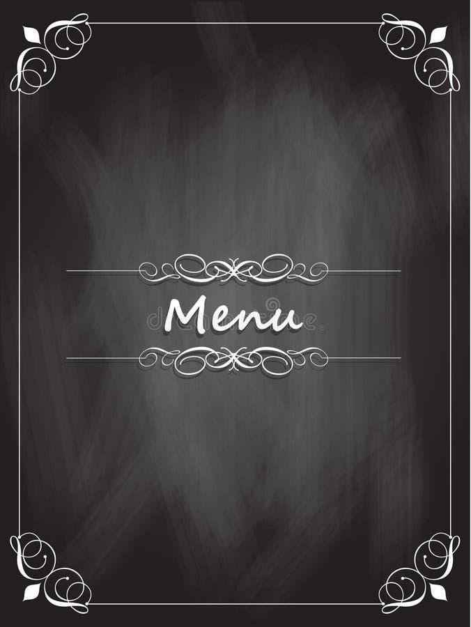 Конструкция меню доски бесплатная иллюстрация