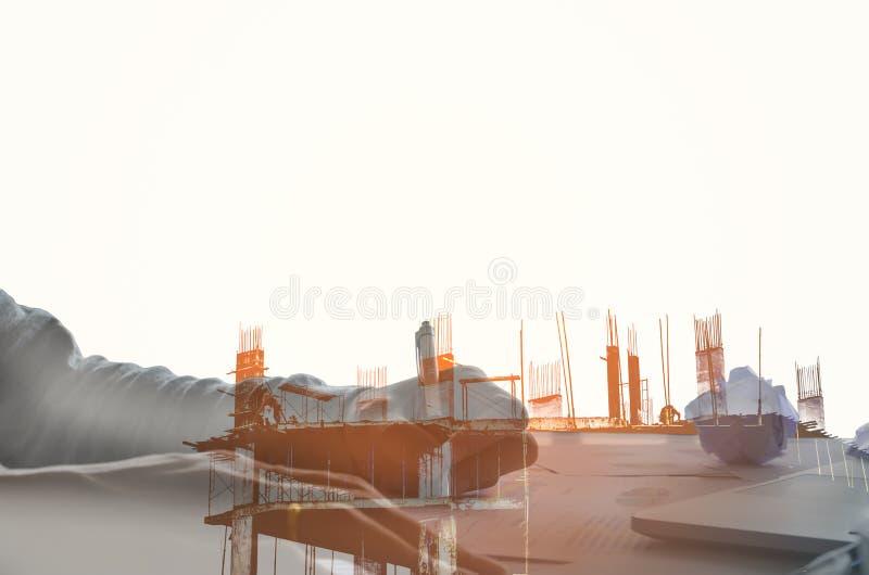 Конструкция места с винтажным тоном на evenning стоковое изображение