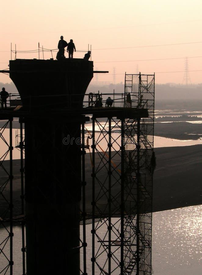 конструкция моста стоковая фотография rf