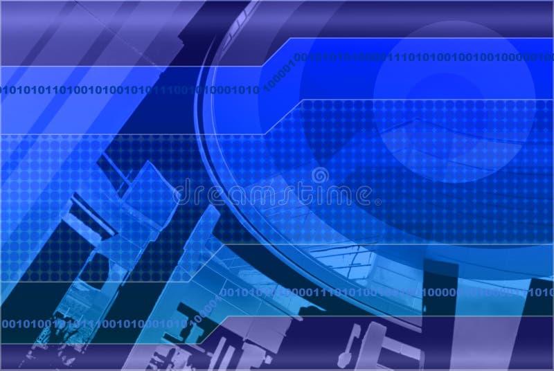 конструкция предпосылки голубая Стоковое фото RF