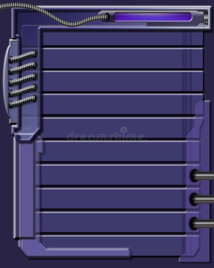 конструкция предпосылки голубая иллюстрация штока