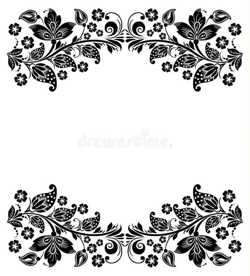 конструкция предпосылки флористическая идеально использует вектор ваш Русское традиционное иллюстрация вектора