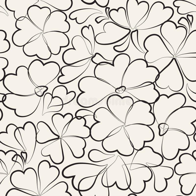 конструкция предпосылки флористическая идеально использует вектор ваш картина безшовная иллюстрация штока