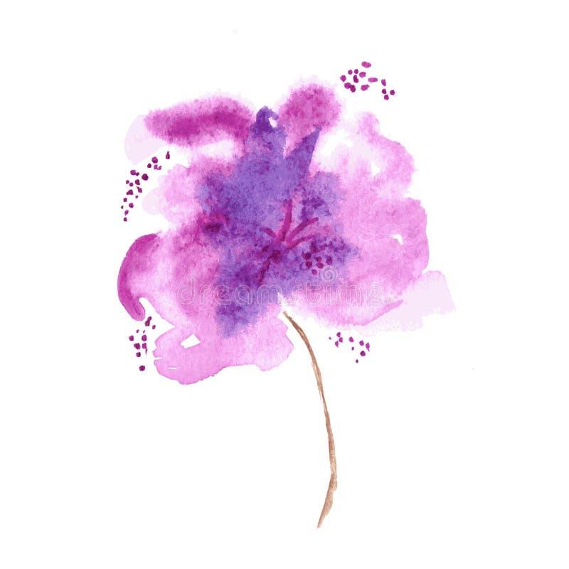 конструкция предпосылки флористическая идеально использует вектор ваш Акварель флористическая бесплатная иллюстрация
