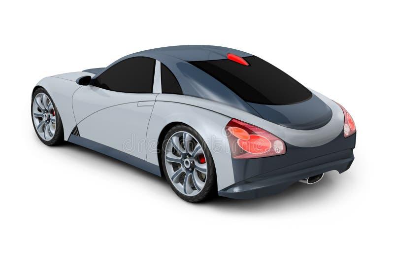конструкция принципиальной схемы автомобиля 3d иллюстрация штока