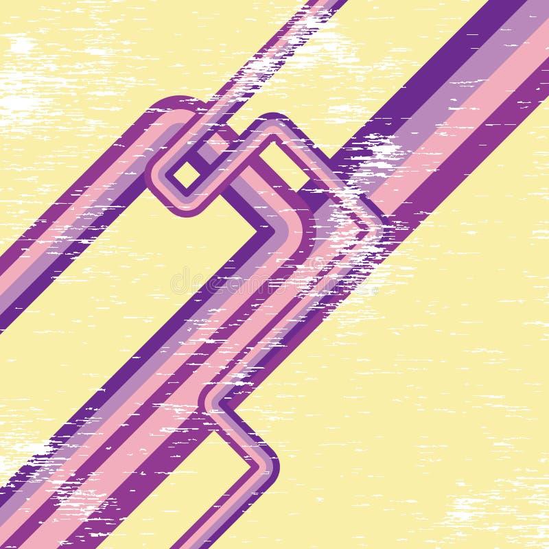 конструкция ретро бесплатная иллюстрация