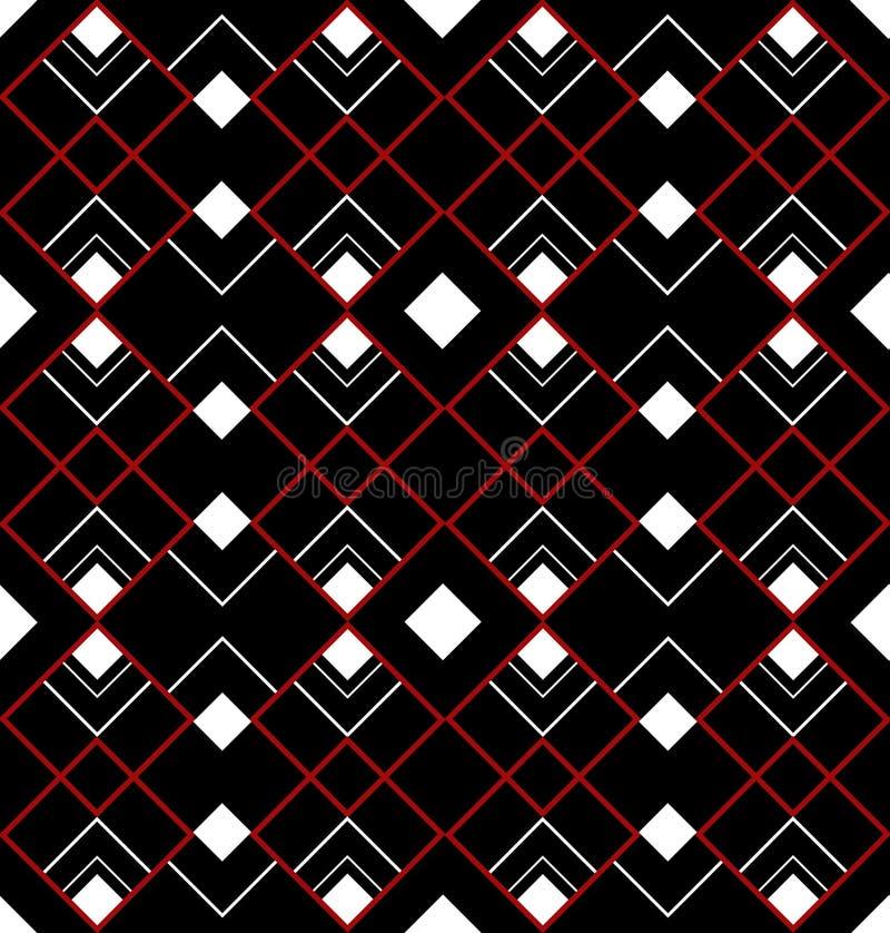 конструкция стиля Арт Деко безшовная иллюстрация вектора