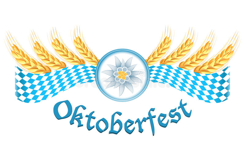 Конструкция торжества Oktoberfest бесплатная иллюстрация
