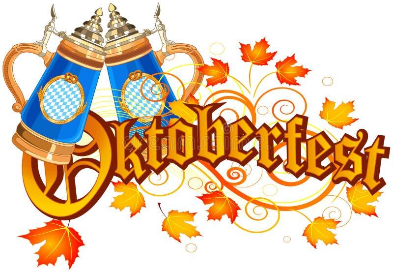 конструкция торжества oktoberfest иллюстрация штока