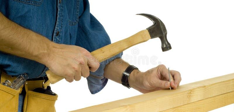 конструкция управляя работником ногтя стоковые фото