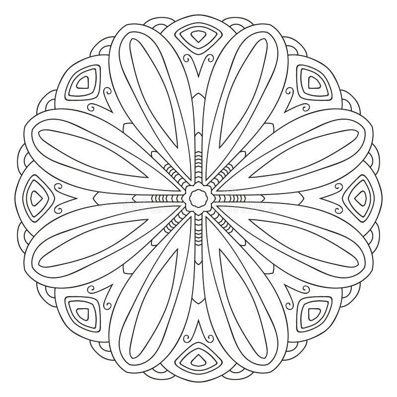 конструкция флористическая идеально орнаментирует вектор пользы ваш бесплатная иллюстрация