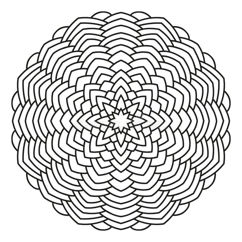 конструкция флористическая идеально орнаментирует вектор пользы ваш иллюстрация штока