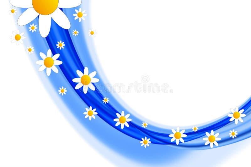 Конструкция цветка весны иллюстрация штока