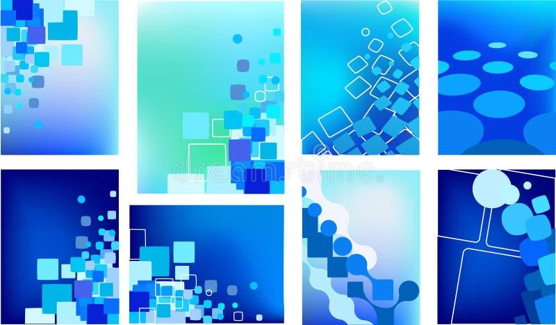 Конструкция шаблона визитной карточки - архив иллюстрация вектора